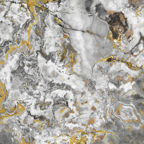 Yellow Grey Marble