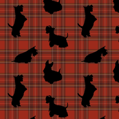 Scottie dog and Scottish Check