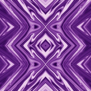 GP15 - XL - Geometric Pillars in Purple and Lavender