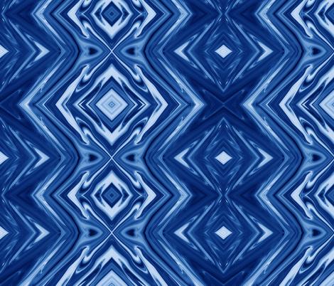 GP16 - XL - Geometric Pillars in Grape Blue fabric by maryyx on Spoonflower - custom fabric