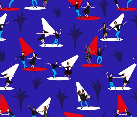 Rockabilly dance fabric by agathests on Spoonflower - custom fabric