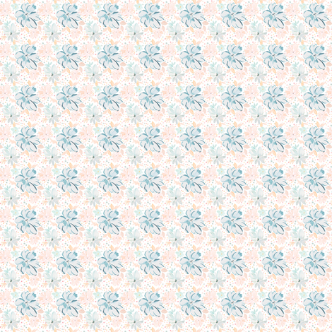 Gumdrop-Blossoms 1x1 fabric by indybloomdesign on Spoonflower - custom fabric
