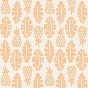 Rainforest - Cream Peach