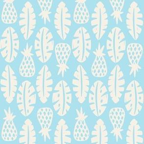Rainforest - Sky Blue