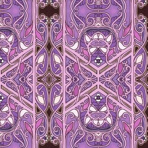 Stained Glass Purple