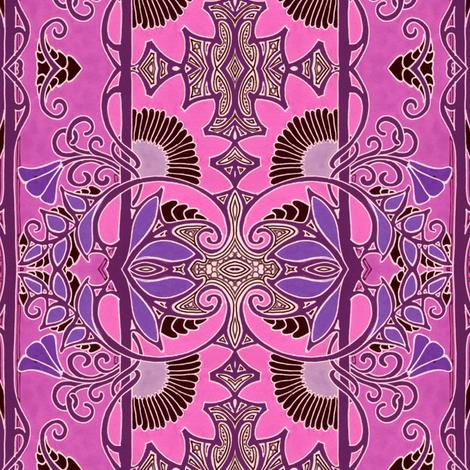As the Tendrils Climb fabric by edsel2084 on Spoonflower - custom fabric