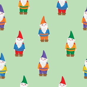 I Love You Gnome Matter What (Light Green)