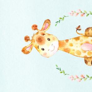 Little Lady Giraffe - Minky Fat Quarter