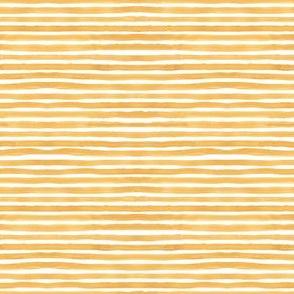 Mustard  Watercolor Stripes