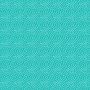 Teal on Teal dots