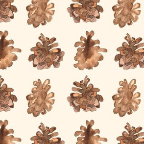 Pine Cone Cream _ Miss Chiff Designs