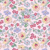Vintage daisy- pink