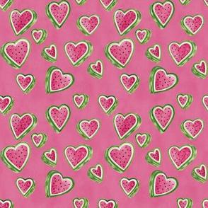 Watermelon Hearts Pink