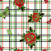 Deadly Plaid Red Green