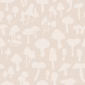 Mushroom Silhouette Neutral