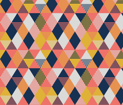 Cone fabric by yvonnesgalleri on Spoonflower - custom fabric