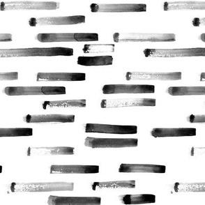 Noir paint stripes    watercolor grungy brush strokes