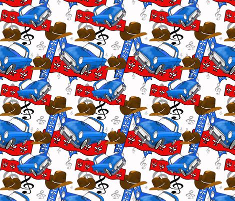 Rockabilly  fabric by caryncolgan on Spoonflower - custom fabric