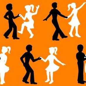 08409941 : RnR dancers : FF8000