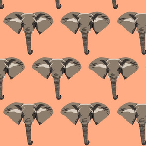 Edward the elephant in coral