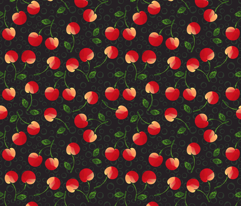 rockabilly fabric by tatyana_okhitina on Spoonflower - custom fabric