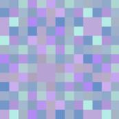 Purple pixel play fabric