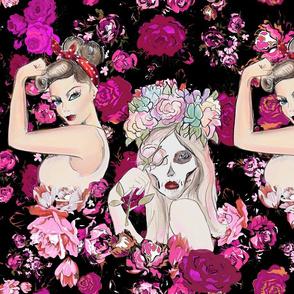 Rockabilly Floral v.2 for Shelley