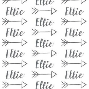 arrow personalized ellie