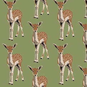 Flossie the fawn in green (small)