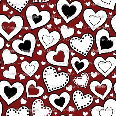 Rockabilly Hearts
