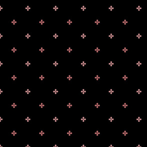 ART DECO Ditsy Pattern* powder rose