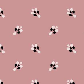 ART DECO Ditsy Pattern* powder 2