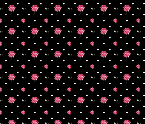 Rockabilly Dots fabric by urbanblossoms on Spoonflower - custom fabric
