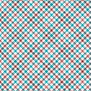Red & blue plaid