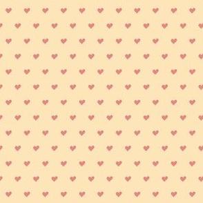 Polka hearts