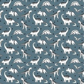 SMALL dinosaur fabric - dinosaur // blue grey dinosaur fabric baby nursery baby boy design andrea lauren fabric