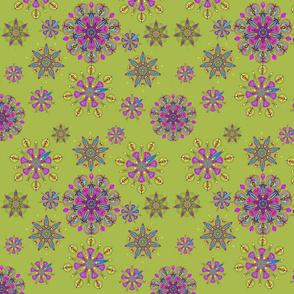 Green Pansky Lace