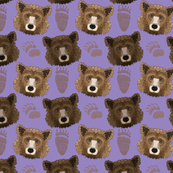 2019 Grizzly Bears purple