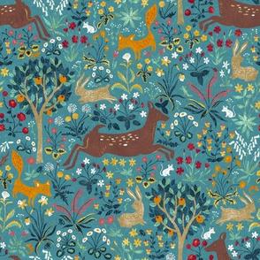 arazzomedievale-blue