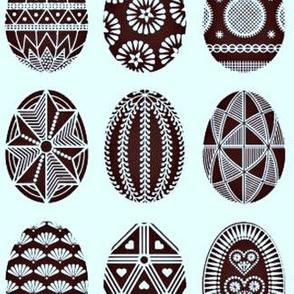 Easter Eggs in Pyansky