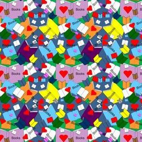 Hawk Books Graphics Fabric 4