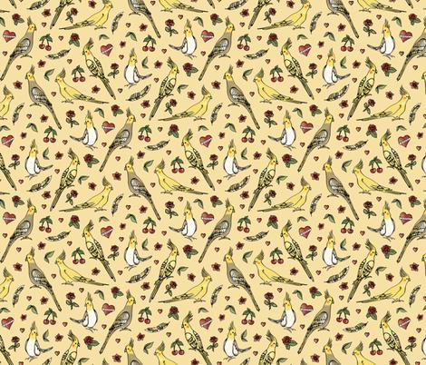 Rockabilly Tiels fabric by dasbrooklyn on Spoonflower - custom fabric