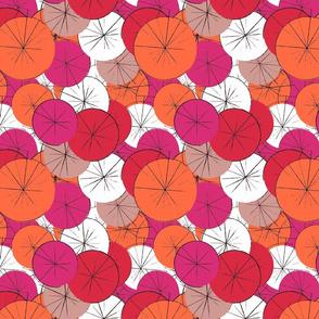 Asian Umbrella Print