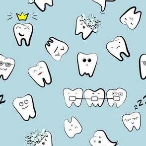 Teeth life dentist pattern