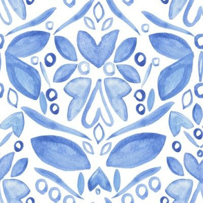Blue Folk Butterflies