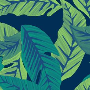 Retro jungle jade