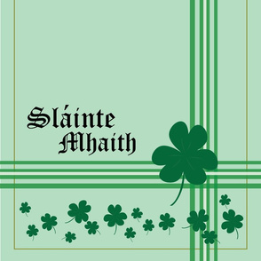 St.Patty'scloverandstripes