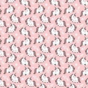 "baby unicorns - light pink 0.5"""