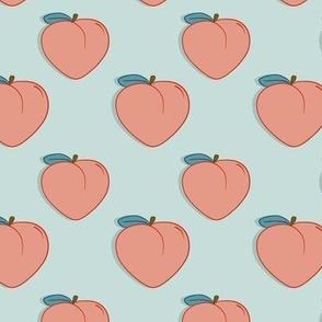 Peachy flat