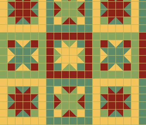 Ozark Diner fabric by madinpursuit on Spoonflower - custom fabric